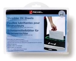 Rexel Öl-Papier für Aktenvernichter (1 VE = 20 Stk.)