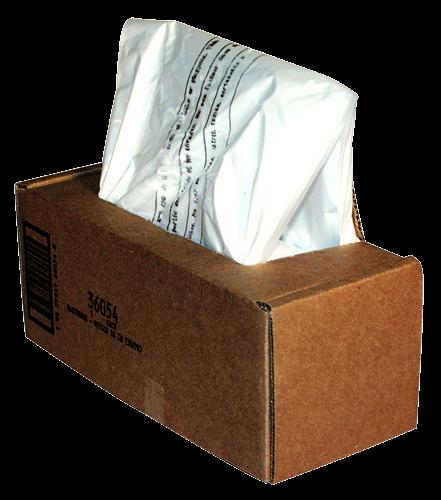 Fellowes Abfallsäcke 50-75 Liter für Aktenvernichter (1 VE = 50 Stk.)