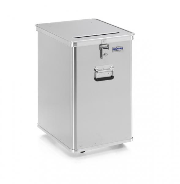 Gmöhling G-DOCU D 1009/120 Aluminiumbehälter (1 Schloss) für Aktenvernichter