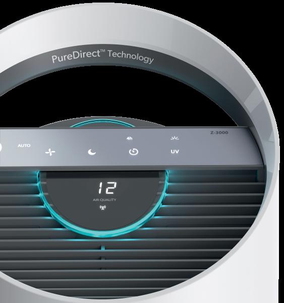 Leitz TruSens™ Z-3000 Luftreiniger mit SensorPod™ Luftqualitätsüberwachung, großer Raum