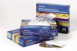 Rexel Plastiksäcke 280 x 280 x 880 mm, leicht perforiert (40L - 100 Stk) für Aktenvernichter