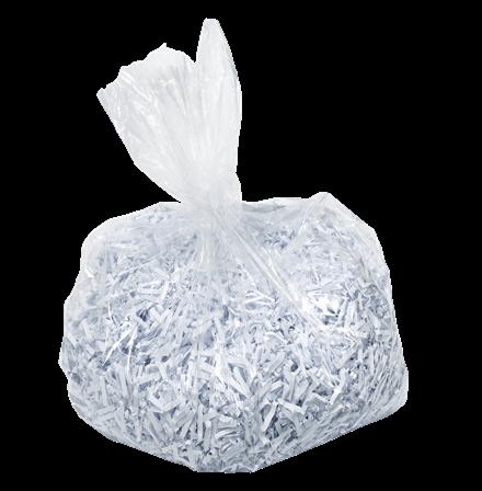 LEITZ Abfallsack für IQ Aktenvernichter - 40 Liter (VE= 100 Stk)