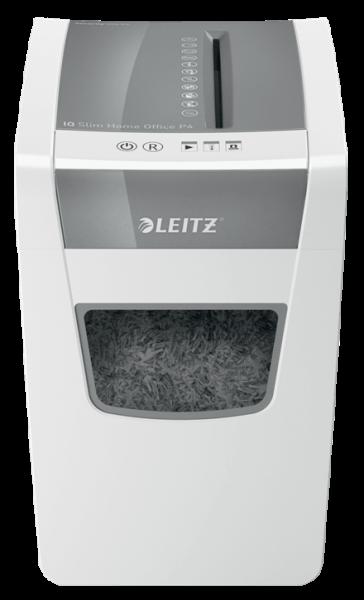 LEITZ IQ Slim Home Office - 4 x 28mm Aktenvernichter