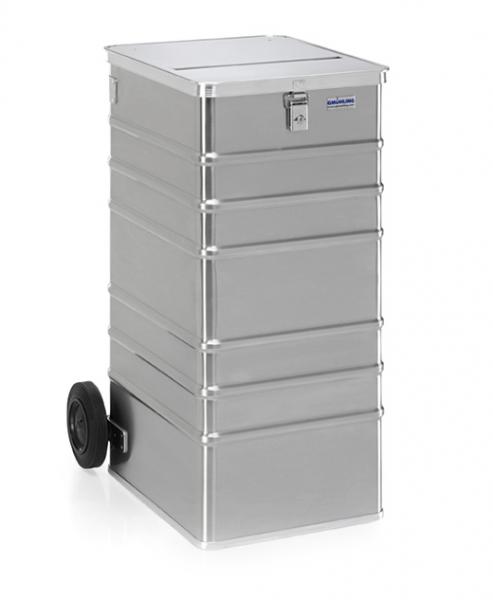 Gmöhling G-DOCU D 1009/240S Aluminiumbehälter (1 Schloss) für Aktenvernichter