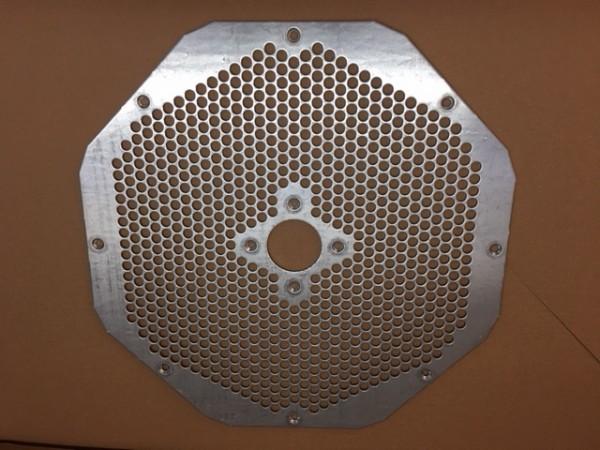 KOBRA Metall Lochblech Filter Level 6 Cyclone Aktenvernichter