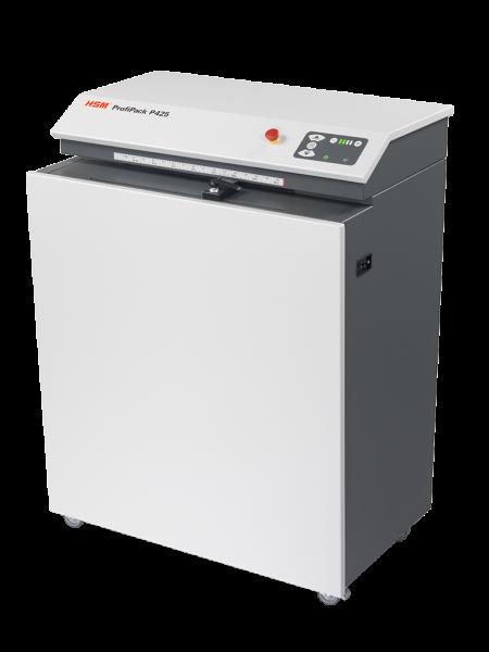 HSM ProfiPack P425 Karton-Shredder Verpackungspolstermaschine inkl. Adaptionssatz für Staubabsaugung