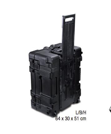 Intimus Transportkoffer für Intimus 8000 Festplattenvernichter