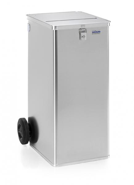 Gmöhling G-DOCU D 1009/240 Ergonomic Aluminiumbehälter (1 Schloss) für Aktenvernichter