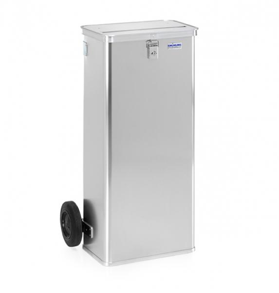 Gmöhling G-DOCU D 1009/120H Aluminiumbehälter (1 Schloss) für Aktenvernichter