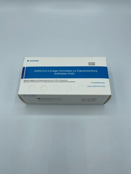 Watmind Covid-19 Antigen Laien Test Kit (Lollitest)