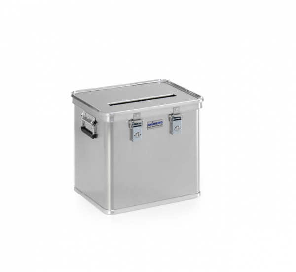Gmöhling G-DOCU A 1569/50E Aluminiumbehälter (2 Schlösser) für Aktenvernichter
