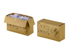 Rexel Abfallsack aus Recycling Papier - 32 Liter (VE= 50 Stk)